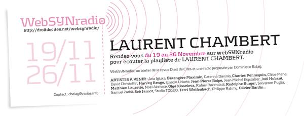 webSYNradio l.chambert-websynradio-600-fr Laurent Chambert Podcast Programme  Revue Droit de cites