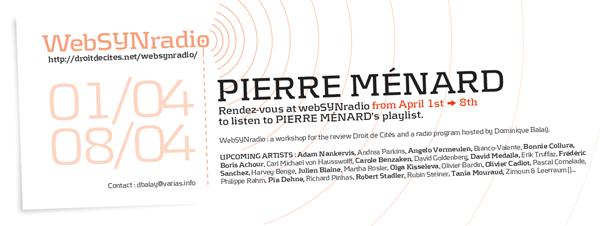 webSYNradio pmenard-websynradio-fr-600 Pierre Menard Podcast Programme  Revue Droit de cites