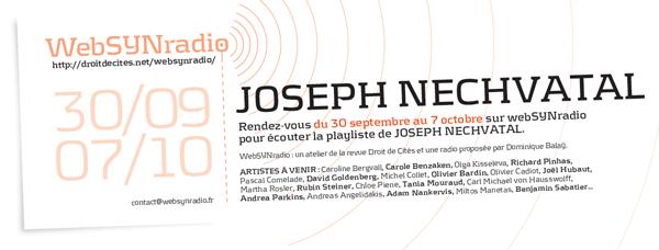 webSYNradio jnechvatal-websynradio-fr-600 La VIRAL SYMPHONY de Joseph Nechvatal en écoute Podcast Programme  Revue Droit de cites