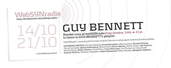 webSYNradio gbennett-websynradio-eng-600 Guy Bennett Podcast Programme  Revue Droit de cites