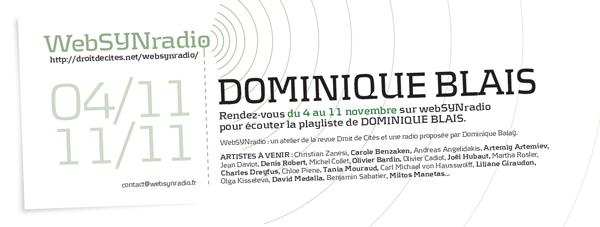 webSYNradio dblais-websynradio-fr-600 Dominique Blais Podcast Programme  Revue Droit de cites