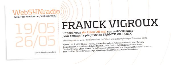 webSYNradio SYN-flyer86-VIGROUX-fra600 D'autres cordes de Franck Vigroux Podcast Programme  Revue Droit de cites