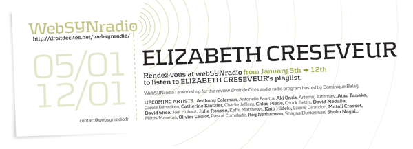 webSYNradio elizabeth_creseveur-websynradio-eng600 Recueillements sonores d'Elizabeth Creseveur Podcast Programme  Revue Droit de cites