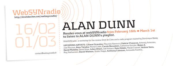 webSYNradio webSYNradio-Alan-DUNN-eng600 Un programme révolutionnaire de Alan Dunn sur websynradio Podcast Programme  Revue Droit de cites