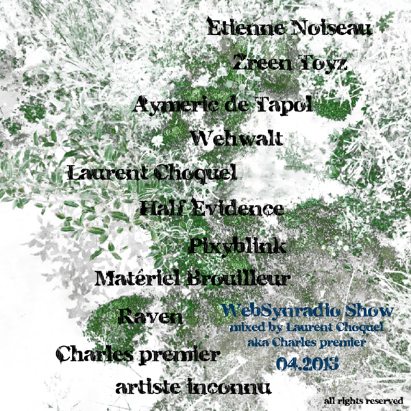 WebSynradio-Show_Laurent-Choquel-aka-Charles-premier_04.2013_visuel600