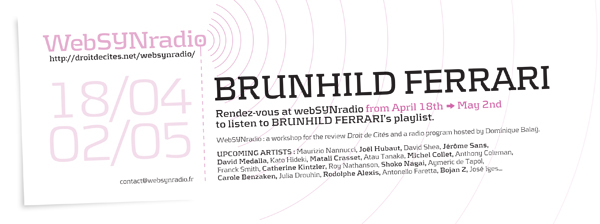 brunhild ferrari websynradio