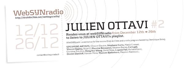 webSYNradio SYN-flyer154-OTTAVI-eng600 Le futur de la radio : Ecoradio, par Julien Ottavi (part2) Podcast Programme  Revue Droit de cites Julien OTTAVI Ecoradio Bernard Robic