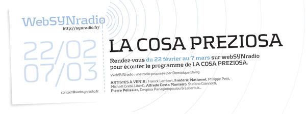 SYNradio-flyer-240-La-Cosa-Preziosa-fra600